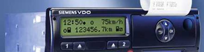 Digitale tachograaf en boordcomputers